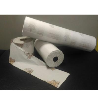 Bobina de papel para mostrador con alegoría