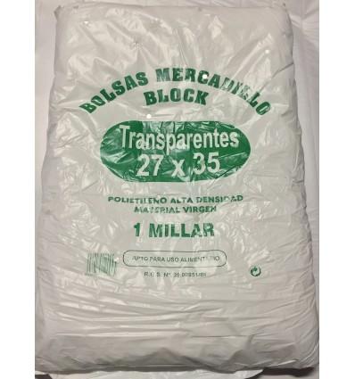 Bolsas de mercado de plástico sin asa